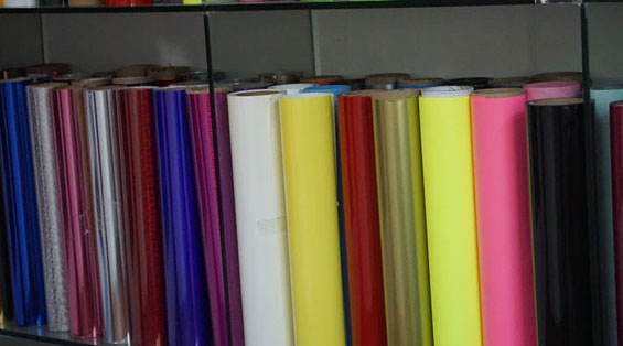 What types of eco solvent printable heat transfer vinyl?